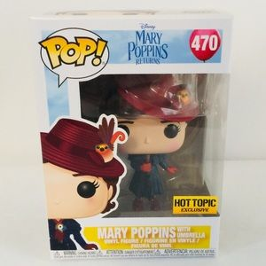 Funko Pop Mary Poppins Returns Umbrella 470 New